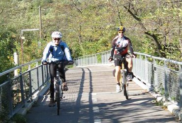 Bicycle_around_Parenzana_bridge
